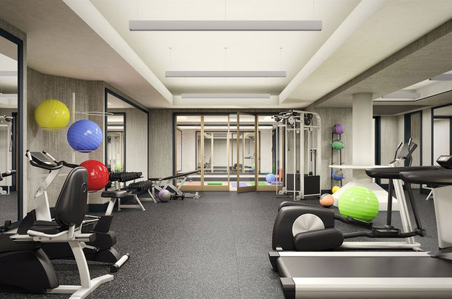 Building Amenities: Gym