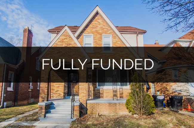 8357 Northlawn Street, Detroit fully funded