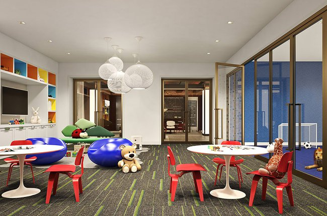 Building Amenities: Children's playroom
