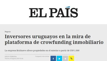 Uruguayan investors in the sights of real estate crowdfunding platform