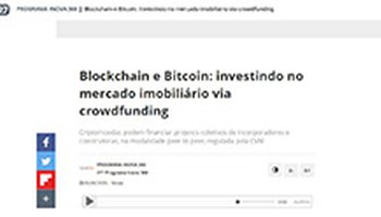 Blockchain and Bitcoin: investing in real estate via crowdfunding