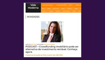 PODCAST: real estate crowdfunding, a profitable investment alternative.
