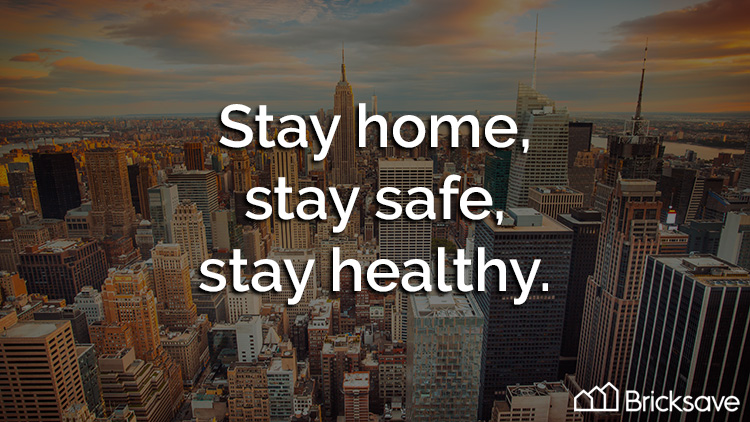 Bricksave: Stay home, stay safe, stay healthy